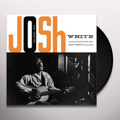 Josh White BALLADS BLUES Vinyl Record - 180 Gram Pressing