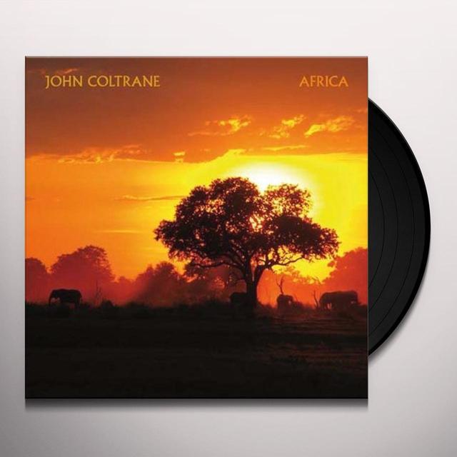 John Coltrane AFRICA Vinyl Record