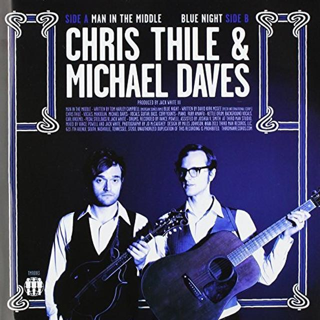 Chris Thile / Michael Daves SPLIT Vinyl Record