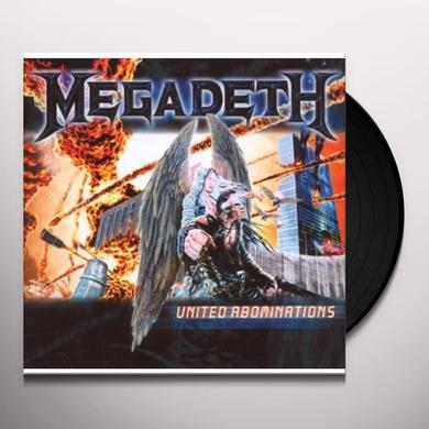 Megadeth UNITED ABOMINATIONS Vinyl Record