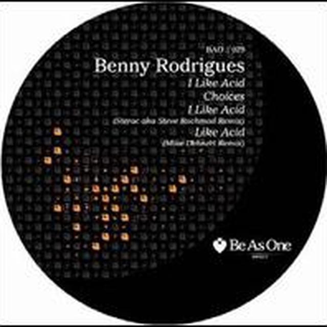 Benny Rodrigues I LIKE ACID (EP) Vinyl Record