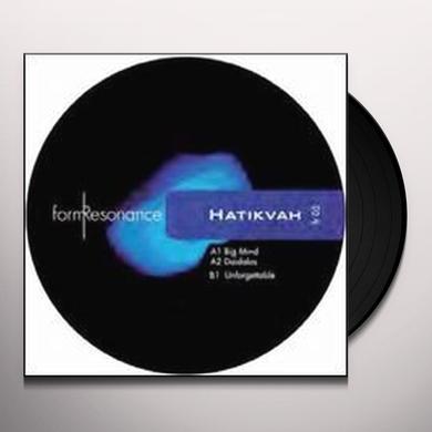 Hatikvah BIG MIND (EP) Vinyl Record