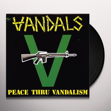 The Vandals  PEACE THRU VANDALISM Vinyl Record - Reissue