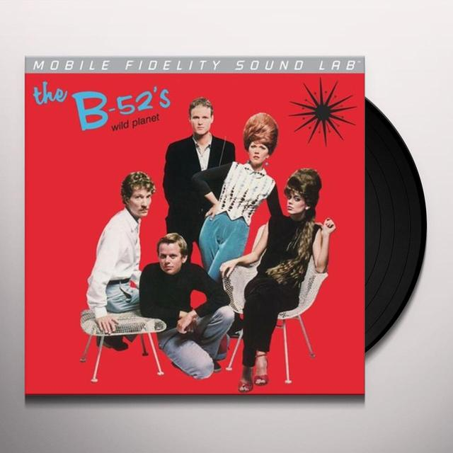 B-52's WILD PLANET Vinyl Record - Limited Edition
