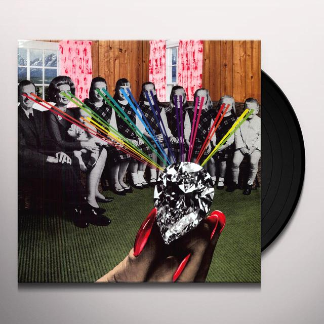 White Wives HAPPENERS Vinyl Record