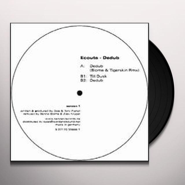 Ecoute DEDUB Vinyl Record