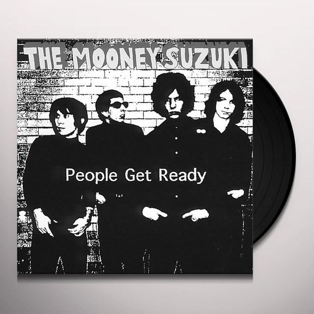Mooney Suzuki PEOPLE GET READY Vinyl Record - Limited Edition