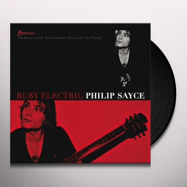 Philip Sayce RUBY ELECTRIC Vinyl Record