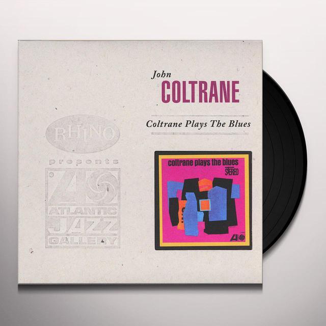 John Coltrane COLTRANE PLAYS THE BLUES (BONUS TRACK) Vinyl Record - 180 Gram Pressing