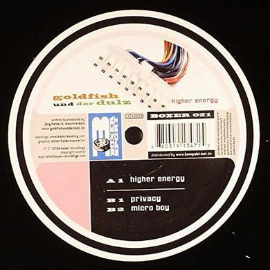 Goldfish Und Der Dulz HIGHER ENERGY Vinyl Record