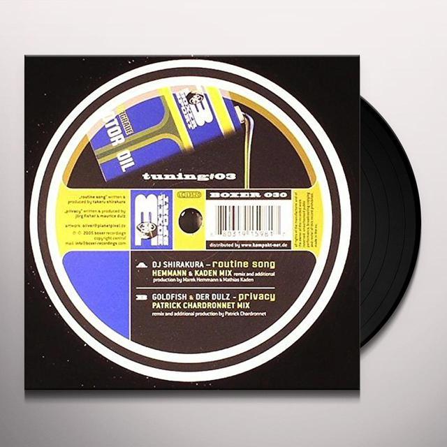TUNING 3 / VARIOUS Vinyl Record
