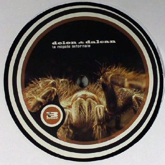 Delon & Dalcan LA MIGALE INFERNALE Vinyl Record