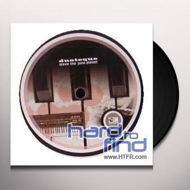 Duoteque LEAVE THE JUNO PLANET (EP) Vinyl Record