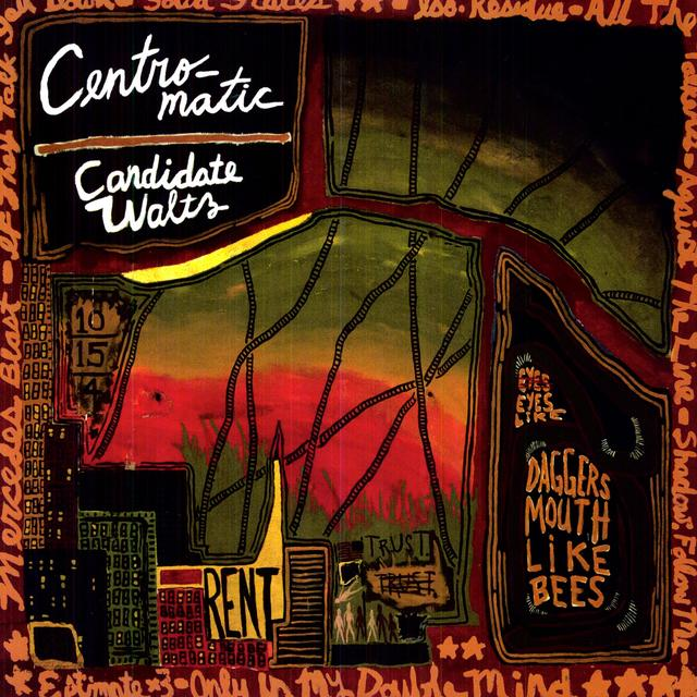 Centro-Matic CANDIDATE WALTZ Vinyl Record - Digital Download Included