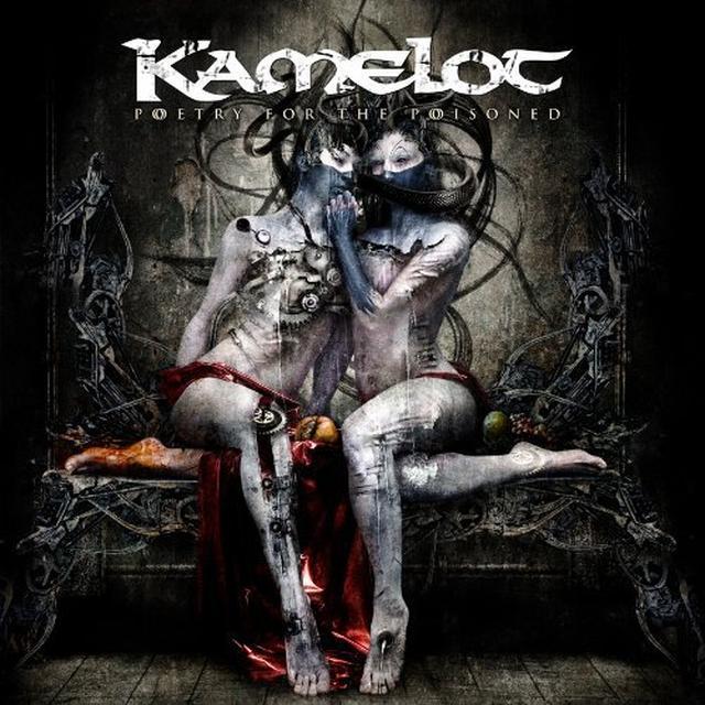 Kamelot POETRY FOR THE POISONED  (W/DVD) Vinyl Record - w/CD, Gatefold Sleeve