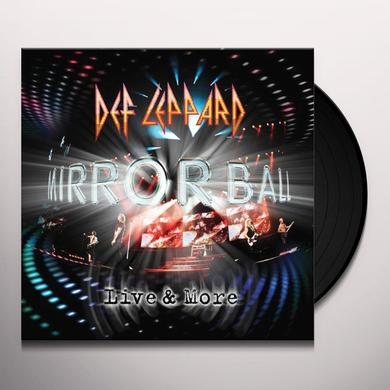 Def Leppard MIRROR BALL Vinyl Record