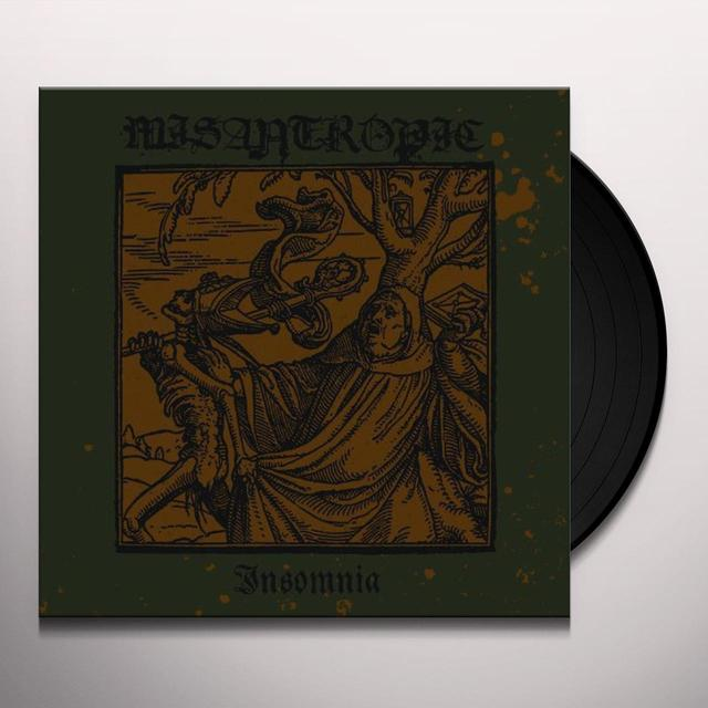 Misantropic INSOMNIA Vinyl Record