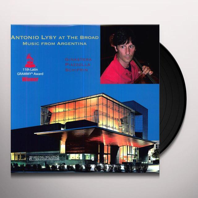 Antonio / Capitol Ensemble Lysy ANTONIO LYSY AT THE BROAD - MUSIC FROM ARGENTINA Vinyl Record