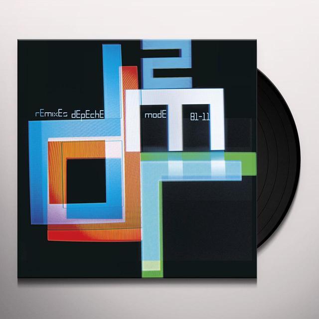 Depeche Mode REMIXES 2: 81-11 Vinyl Record