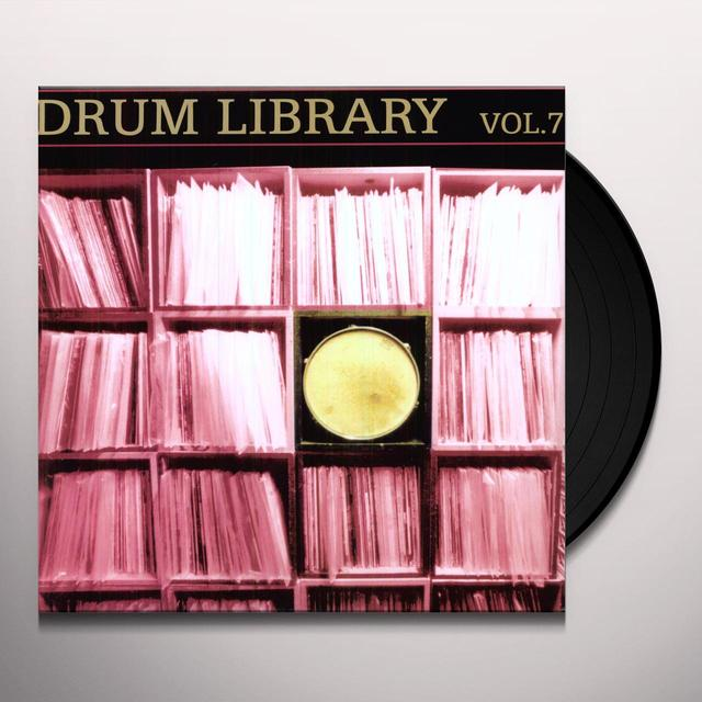 Paul Nice DRUM LIBRARY 7 Vinyl Record