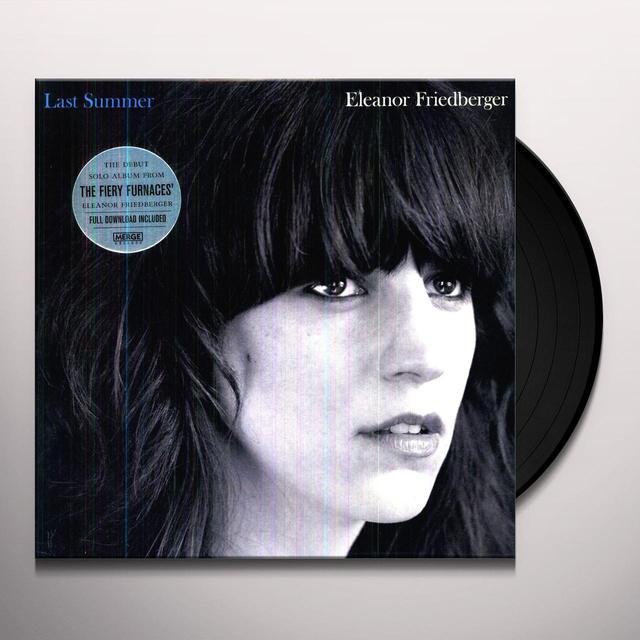 Friedberger / Eleanor LAST SUMMER Vinyl Record