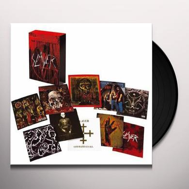 Slayer VINYL CONFLICT  (BOX) Vinyl Record - Holland Release