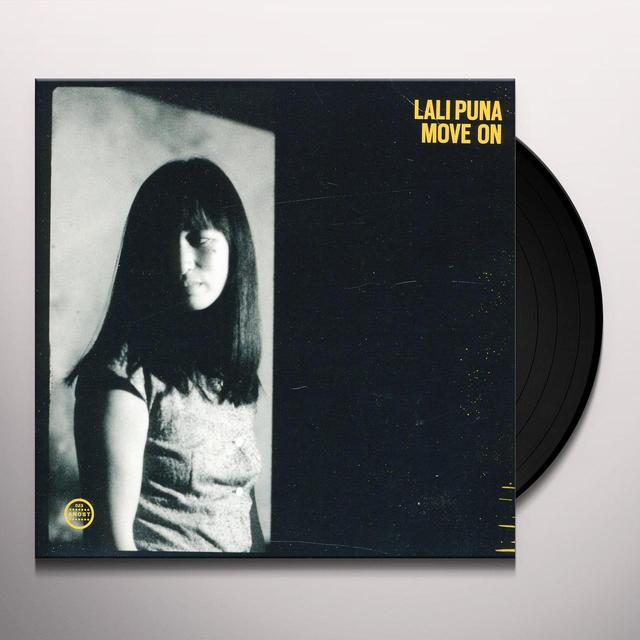 Lali Puna MOVE ON / AFTER ALL STOP (EP) Vinyl Record