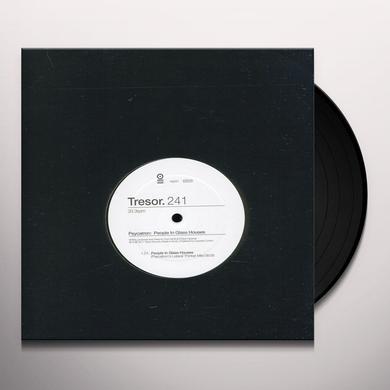 Psycatron PEOPLE IN GLASS HOUSES (EP) Vinyl Record