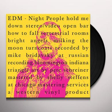 Edm NIGHT PEOPLE Vinyl Record