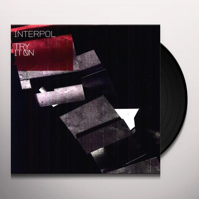 Interpol TRY IT ON REMIX Vinyl Record