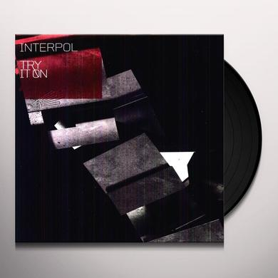 Interpol TRY IT ON REMIX (EP) Vinyl Record - Limited Edition