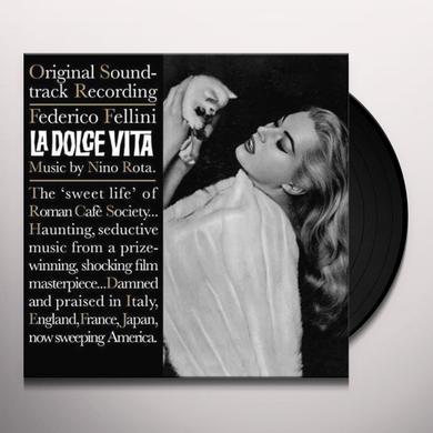 Nino Rota FELLINIS LA DOLCE VITA Vinyl Record