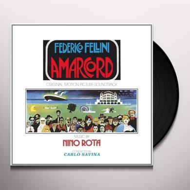 Nino Rota FELLINIS AMARCORD Vinyl Record