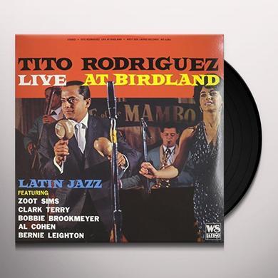 Tito Rodriguez LIVE AT BIRDLAND Vinyl Record