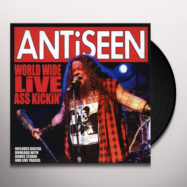 Antiseen WORLDWIDE LIVE ASS KICKIN Vinyl Record