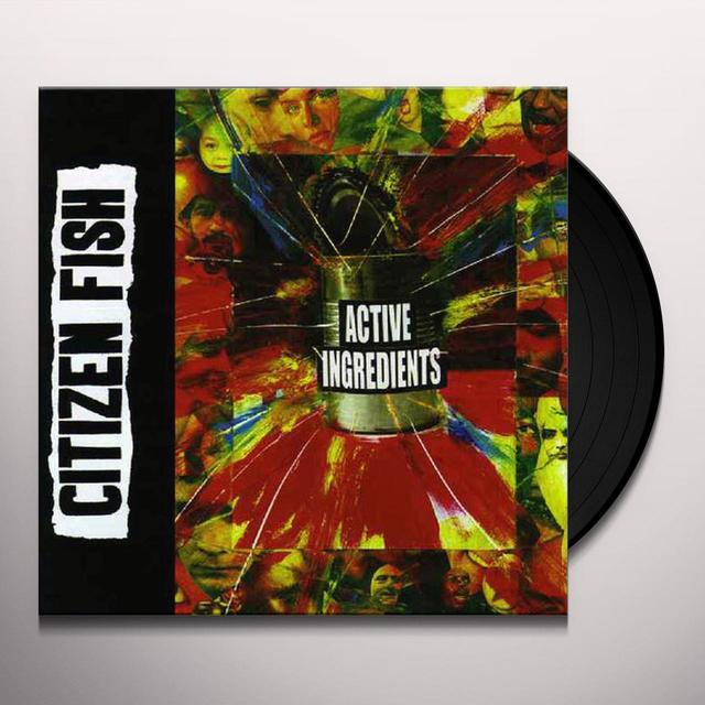 Citizen Fish ACTIVE INGREDIENTS Vinyl Record