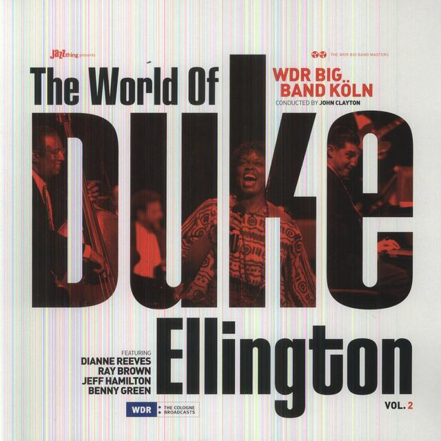 Wdr Big Band Koln WORLD OF DUKE ELLINGTON 2 Vinyl Record