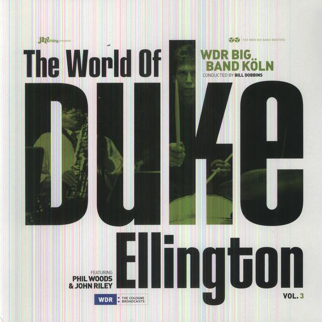 Wdr Big Band Koln WORLD OF DUKE ELLINGTON 3 Vinyl Record