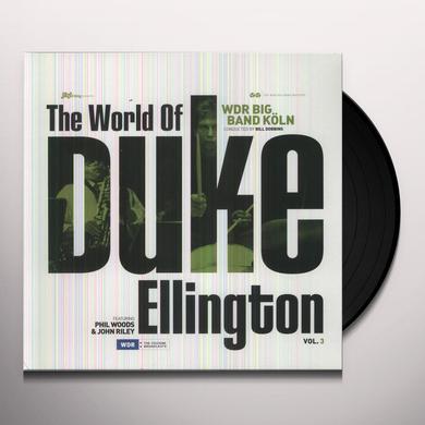 Wdr Big Band Koln WORLD OF DUKE ELLINGTON 3 Vinyl Record