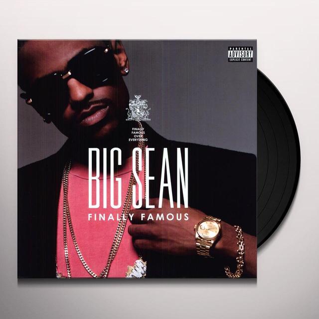 Big Sean FINALLY FAMOUS: THE ALBUM (Vinyl)