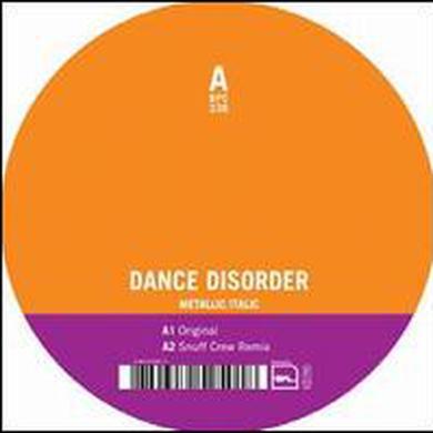 Dance Disorder METALLIC ITALIC Vinyl Record