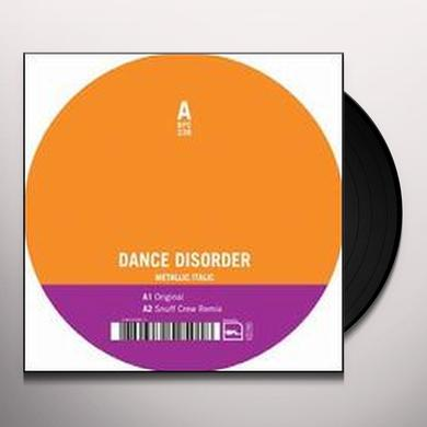 Dance Disorder METALLIC ITALIC (EP) Vinyl Record