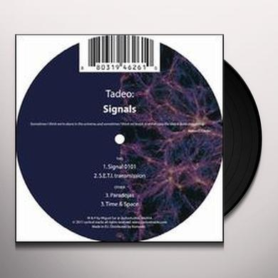 Tadeo SIGNALS (EP) Vinyl Record