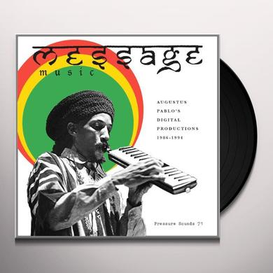 Augustus Pablo MESSAGE MUSIC: DIGITAL PRODUCTIONS 1986-94 Vinyl Record