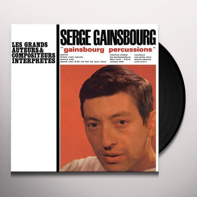 Serge Gainbourg GAINBOURG PERCUSSIONS Vinyl Record - 180 Gram Pressing