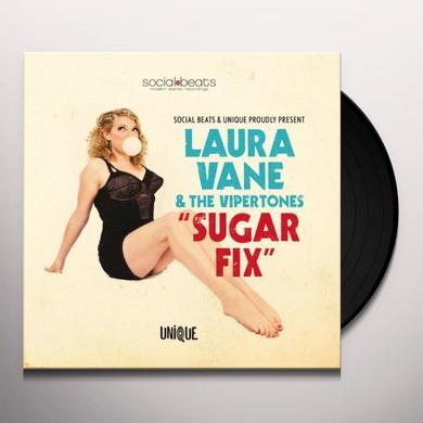 Laura Vane & The Vipertones SUGAR FIX Vinyl Record