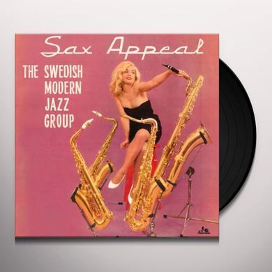 Swedish Modern Jazz Group SAX APPEAL Vinyl Record