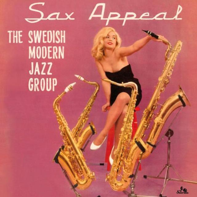 Swedish Modern Jazz Group SAX APPEAL Vinyl Record