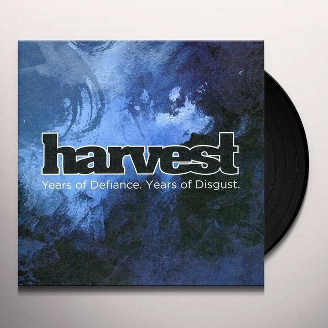 Harvest YEARS OF DEFIANCE YEARS OF DISGUST Vinyl Record