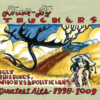 Drive-By Truckers GREATEST HITS 1998-2009 Vinyl Record